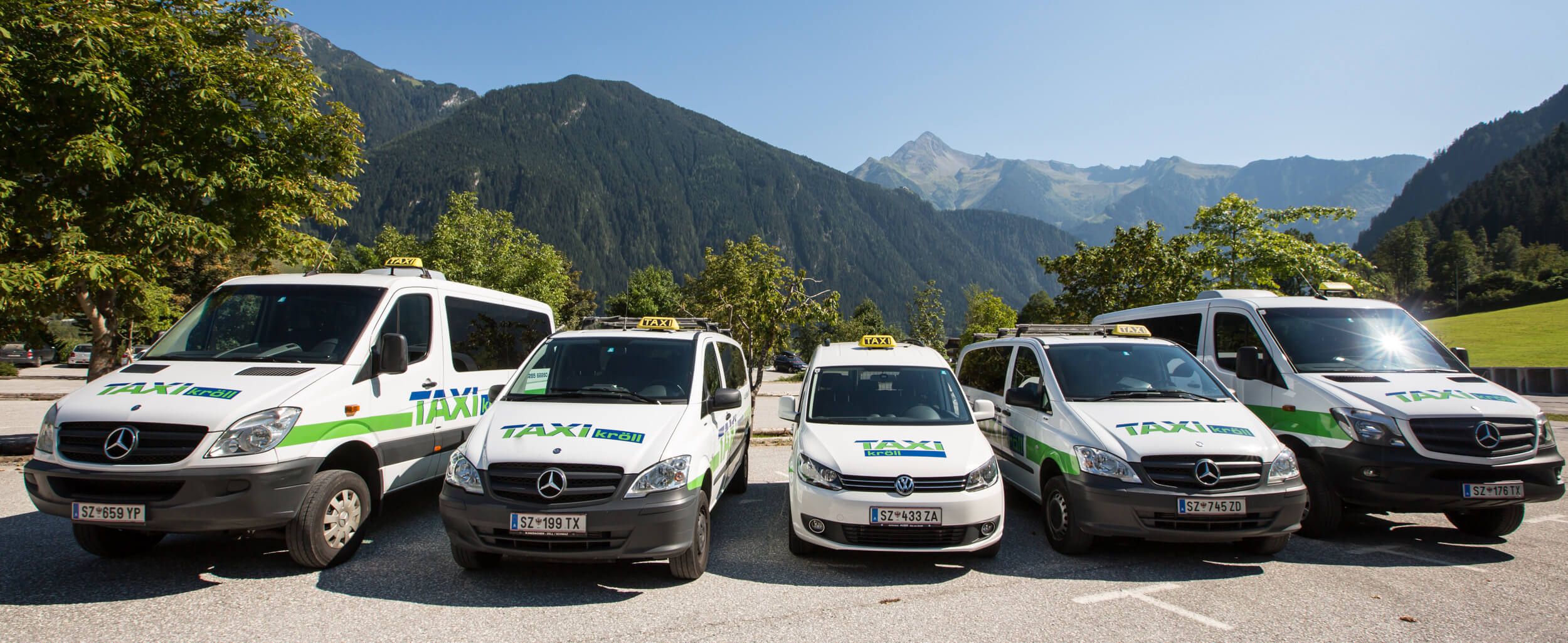 Ski shuttle in Zillertal for your skiing holiday - Taxi